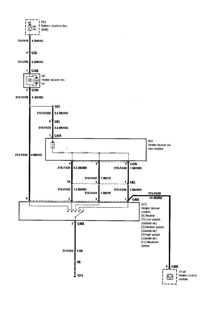 monitor heater fan wiring diagram