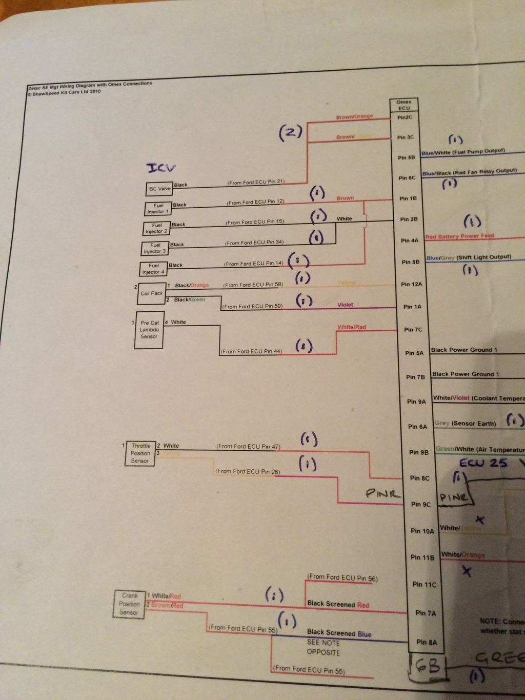 Ford 2 0 Zetec Wiring Diagram No Spark On New Zetec Turbo Build Passionford Ford