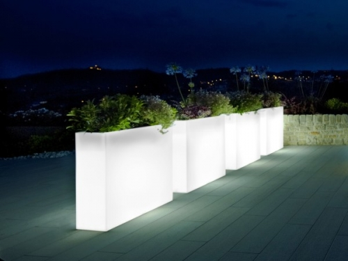 Grote Bloempot Buiten Urban Illuminated Trough Planter | Passion For Pots