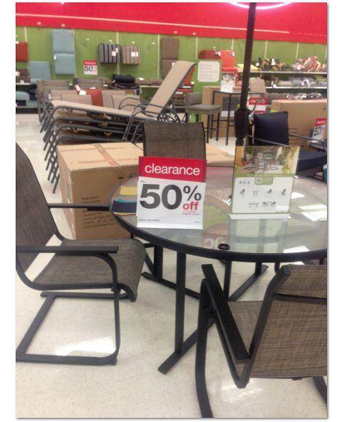 50 Off All Summer Outdoor Furniture At Target - Outdoor Furniture Clearance Online