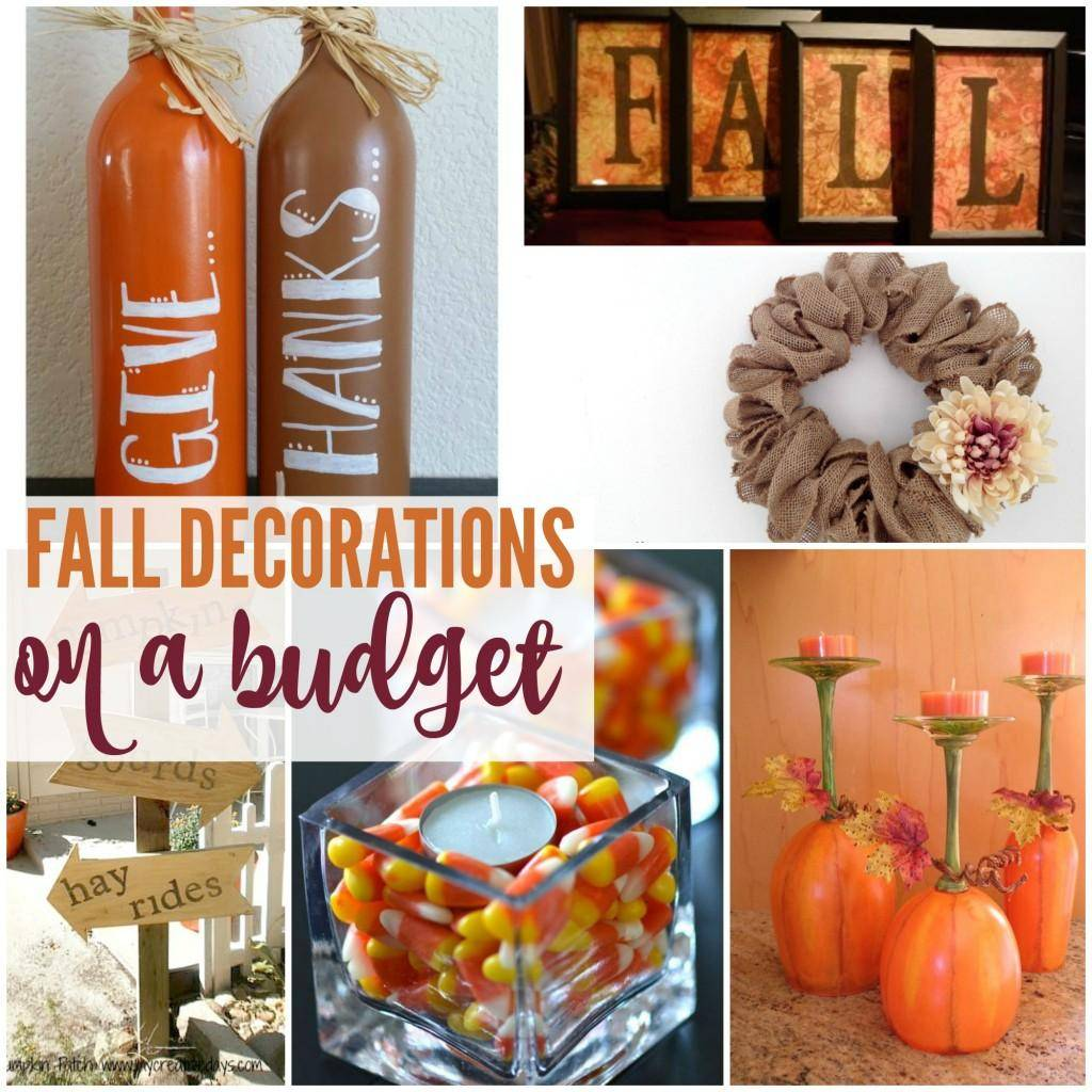 Fall Decor To Make Fall Decorations You Can Make On A Budget