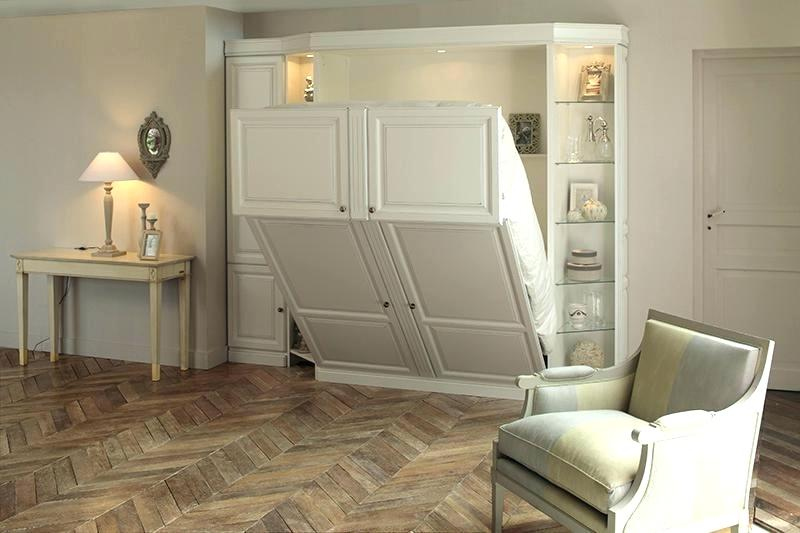 Armoire D Angle Dressing Lit Escamotable 2 Personnes D'occasion - Passions Photos