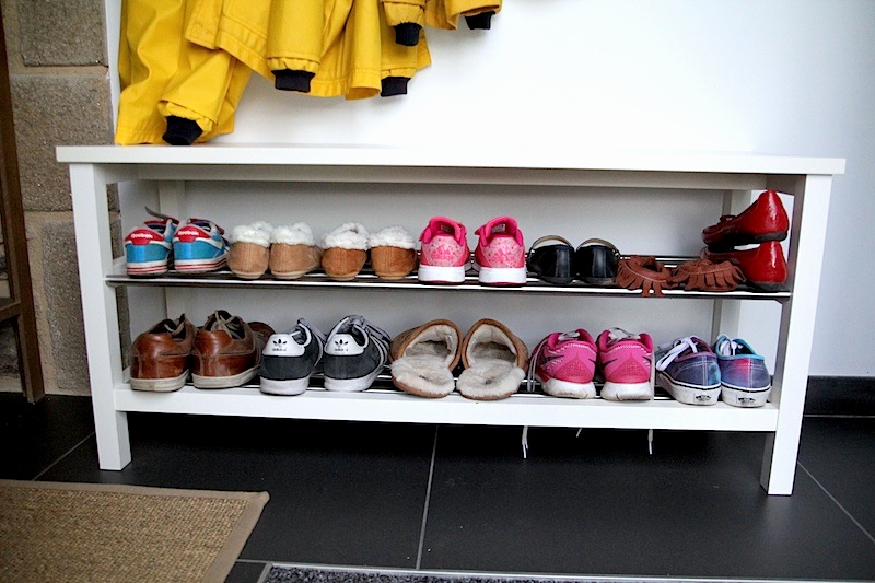 Meuble à Chaussures Fly Ikea Banc Chaussure - Passions Photos