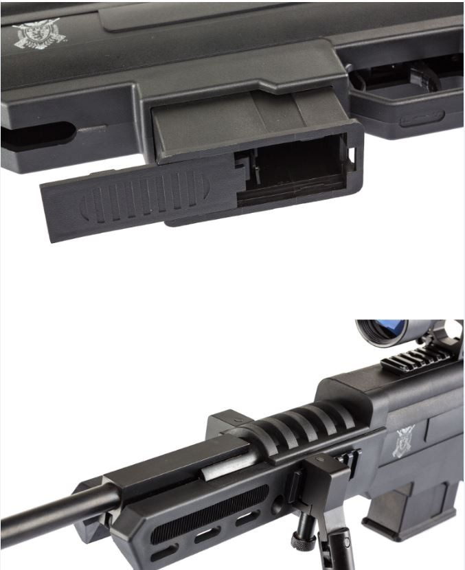 Armoire Fusil Castorama Carabine à Plombs Black Ops Sniper Tactical Cal.4,5mm