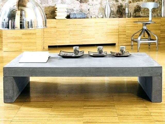 Table Beton Cire Exterieur Table De Salon En Beton Cire ...