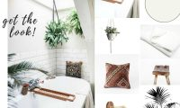 Get the look: Boho Bathroom