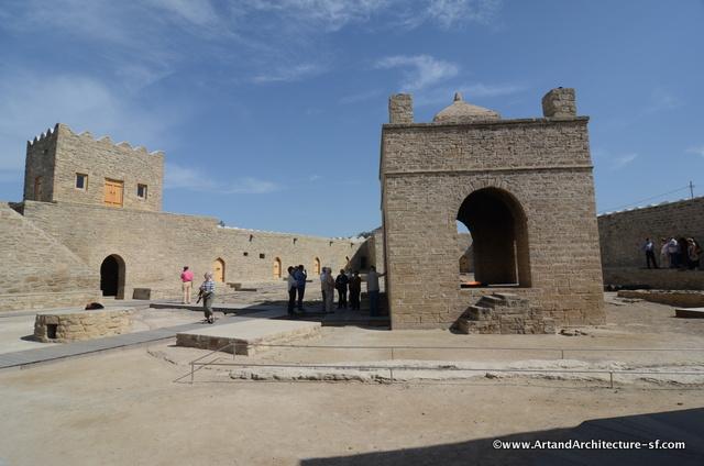Zorastrian Temple Baku
