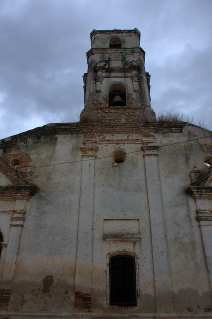 One of many abandoned churches in Cuba