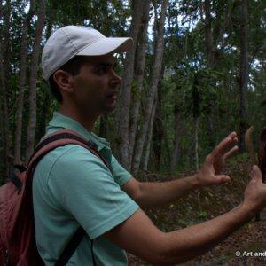 Cuba-Topes De Collantes:Parque Codina