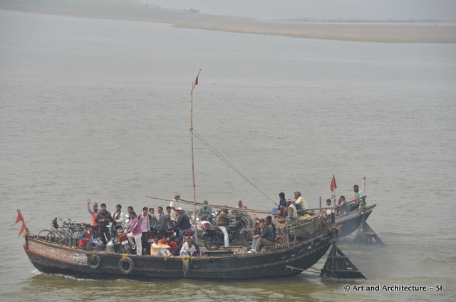 Ferry Boats on the Ganges