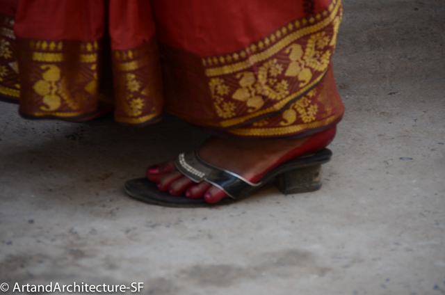 Red Feet of India