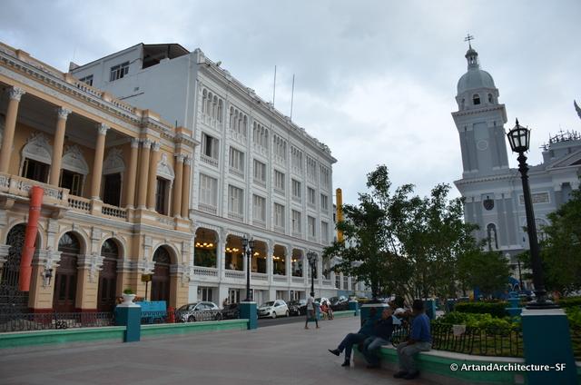 Hotel of Santiago de Cuba