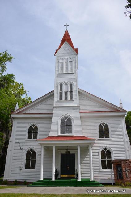 Baptist church in beaufort
