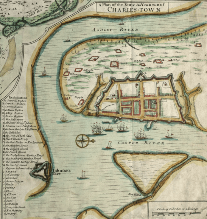 The Crisp Map of 1711