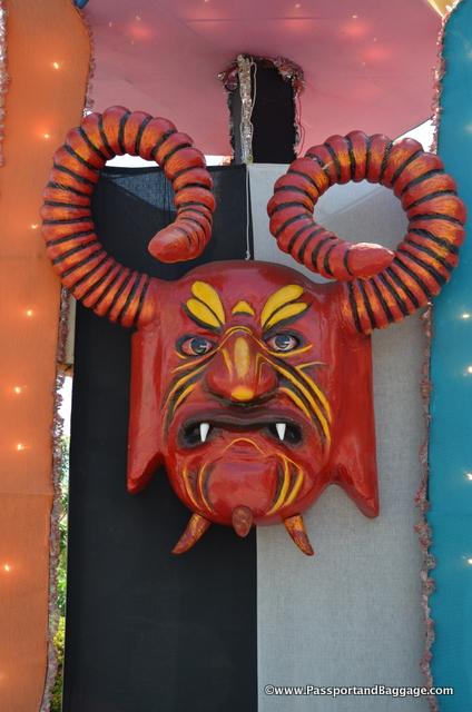 The Totem of the Carnaval of Santiago de Cuba