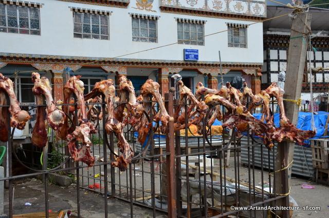 Bones in the Bhutan Market