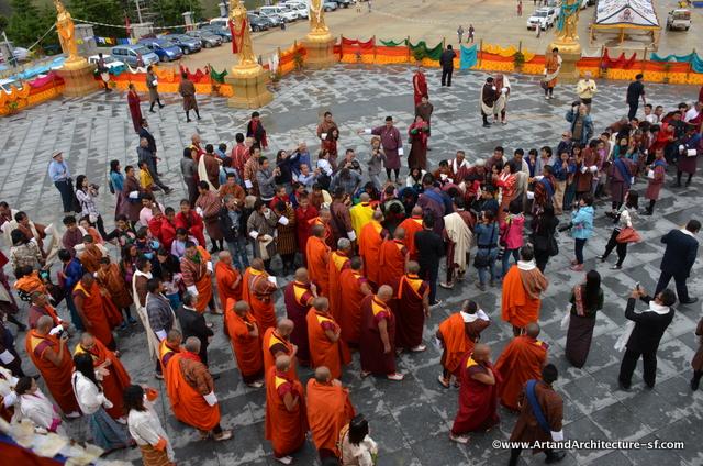 The Grand Abbot of Bhutan