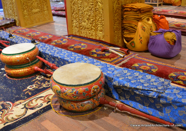 There is no record of how drums came to Bhutan but they serve a very important place in both cultural and religious ceremonies