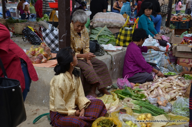 The Bhutan Market