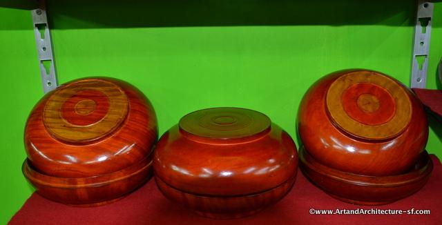 wooden bowls of Bhutan