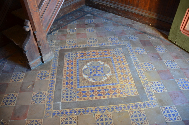 The tile Floor
