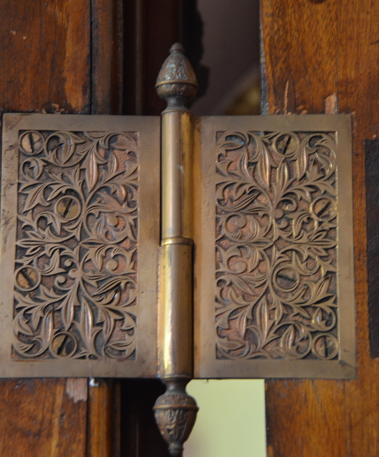 Door Escutcheons in the Church