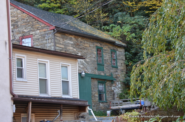 An old mill in Jim Thorpe