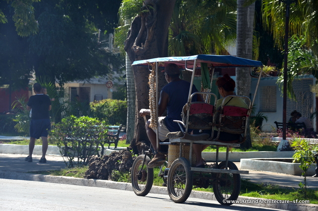 Transportion in Cuba comes in all types