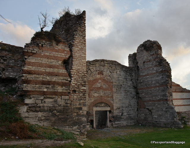 Entry through the Walls of Constantinople