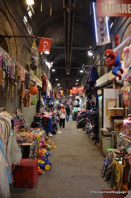 The bazaar of Kayseri