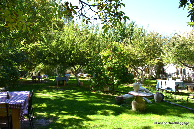 "The ""Hidden Apple Garden"" is a wonderful place to sit in the garden and enjoy a leisurely lunch"