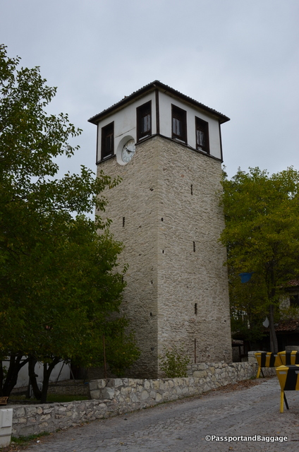 Behind the City History Museum is the Clock Tower. Built in 1797 is was a gift to the town by the Grand Vizer of Selim.