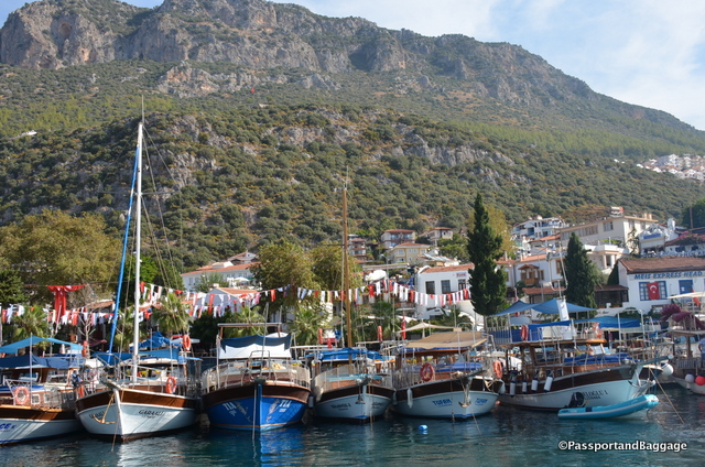 The harbor of Kaş