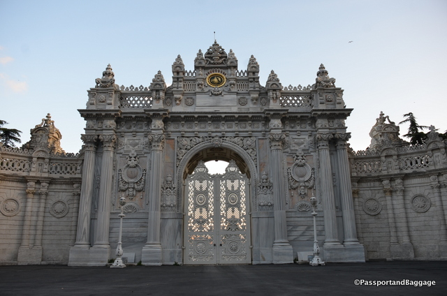 Peek through the gates at the Dolmabahçe Palace, or better yet, go visit.