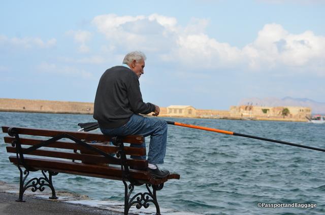 Fisherman are everywhere