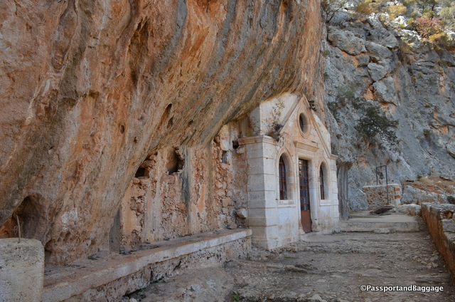 The church was built in the cave where St. John the Hermit lived