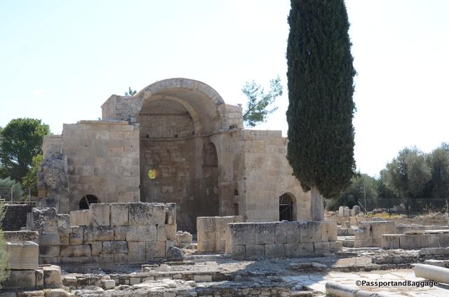 The basilica of Gortyn