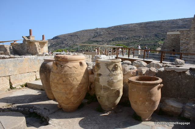 Pithoi were manufactured all over the entire Mediterranean. They were used for storing or shipping wine, olive oil, or various types of vegetable products. They became known as pithoi when western classical archaeologists adopted the term to mean the jars uncovered during excavations of Minoan palaces on Crete.