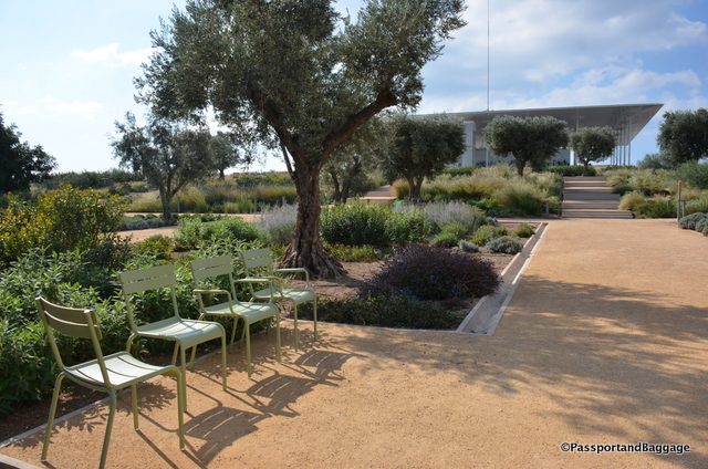 I was very impressed that the garden uses moveable chairs, as do the soccer fields.
