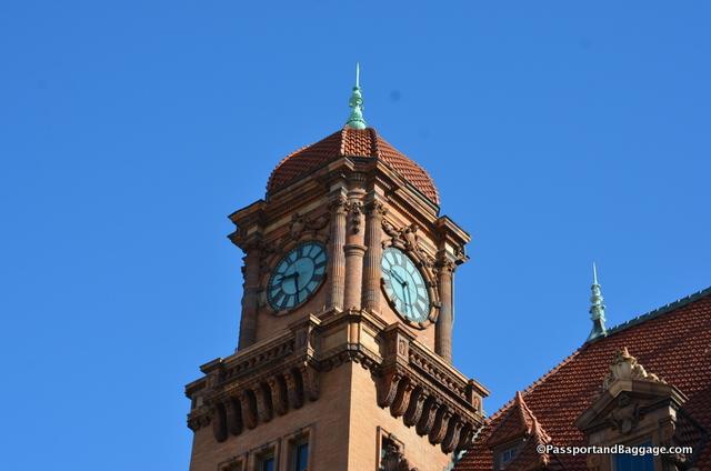 Richmond, VA Main Street Railroad Station Clock Tower