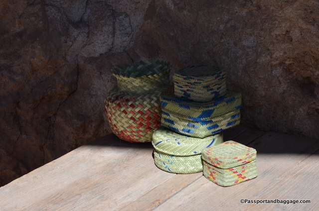 Baskets woven by the Tarahumara Indians