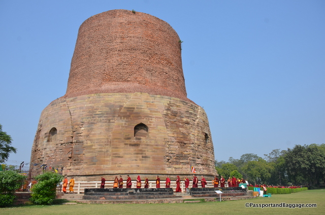 The Stupa at Sarnath
