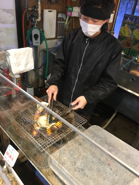 You can also find several fish stores throughout town that will grill the fish right there