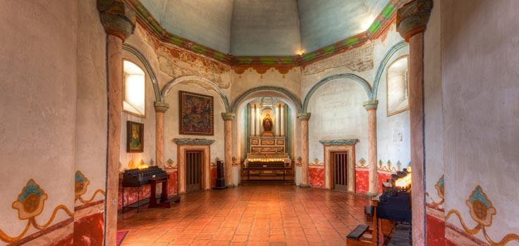 Old Mission San Luis Rey - PassPort to San Diego