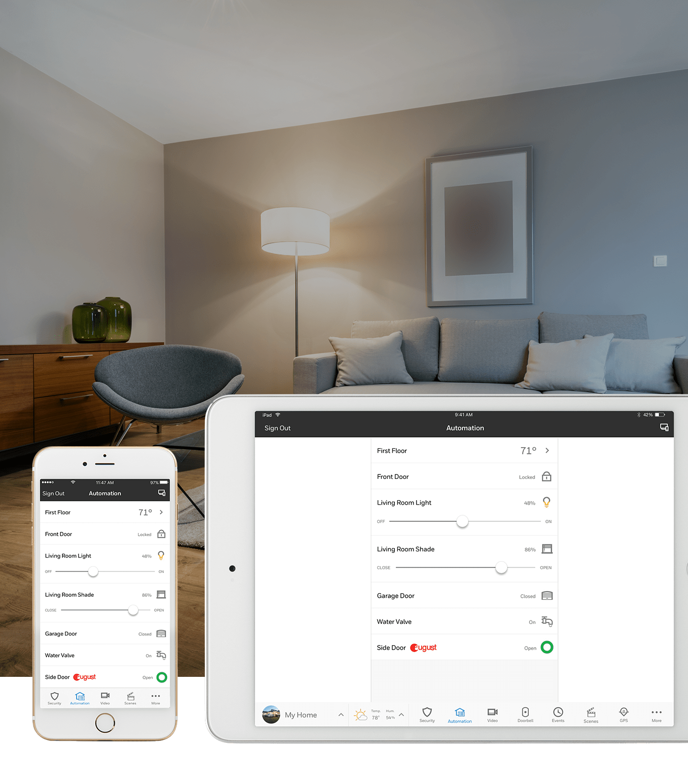 Light Automation Home Automation Pass Security