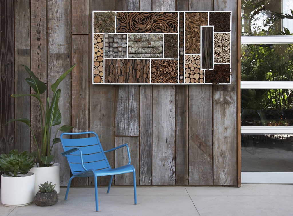 Holzwand Streichen Bee Walls & Insect Hotels: Habitat Inspiration