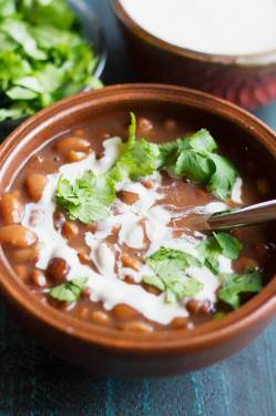 Relaxing Instant Pot Mexican Pinto Beans Instant Pot Mexican Pinto Beans Pass Plants Vegetarian Mexican Recipes Burritos Vegetarian Mexican Recipes Rick Bayless
