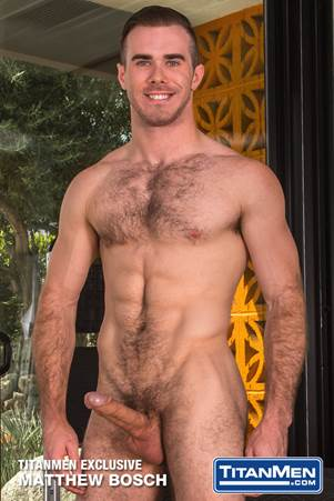 TitanMen Re-Signs Matthew Bosch as Exclusive Performer