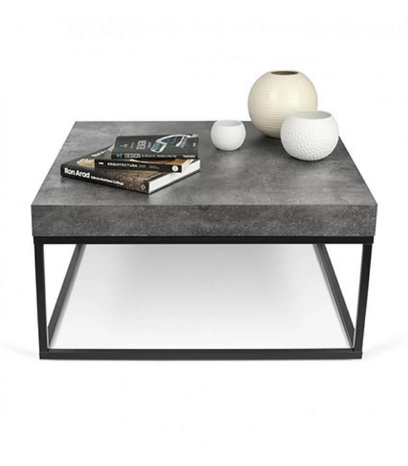 Table Basse En Beton Table Basse Effet Beton 75 Cm