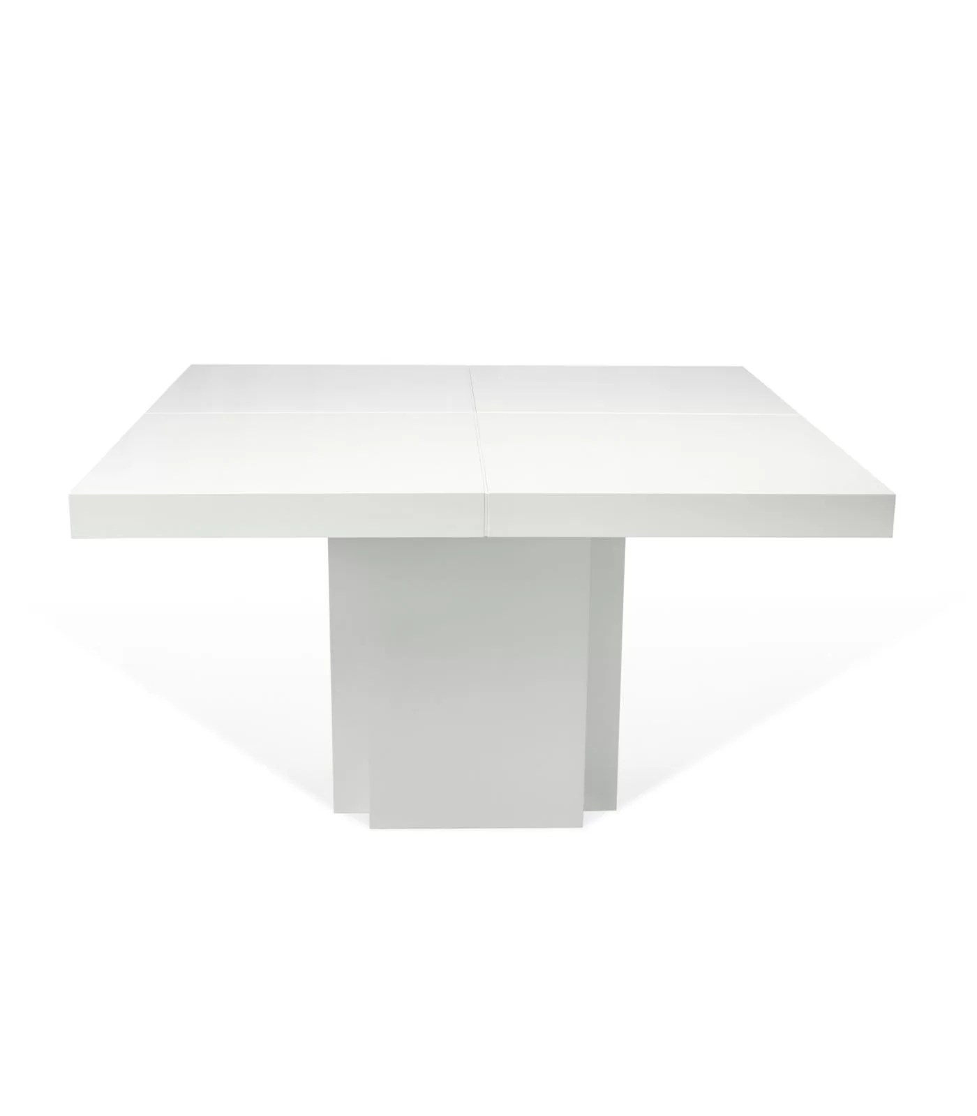 Table à Manger Fly Glossy White 130cm Pastel Living